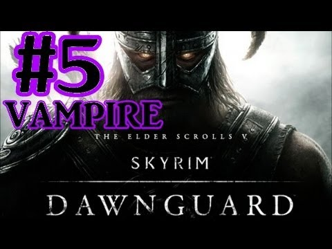 Elder Scrolls V : Skyrim Dawnguard DLC Walkthrough - Part 5 Redwater Den