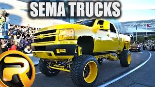 getlinkyoutube.com-Leaving SEMA Show 2015 - Just Trucks!