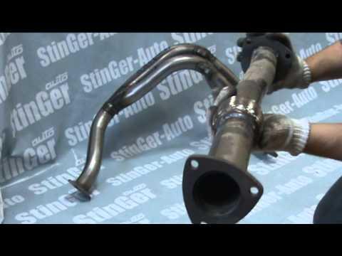 Выпускной коллектор (ПАУК) StinGer 4 2 1 Chevrolet Lacetti