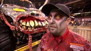 getlinkyoutube.com-Monster Jam - Zombie Freestyle from New Orleans - Feb 23, 2013