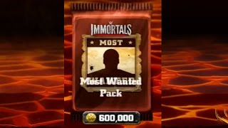 getlinkyoutube.com-Most Wanted Pack Opening! WWE Immortals! IOS/Android