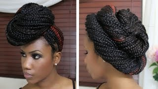 getlinkyoutube.com-4 Styles for Box Braids Part One
