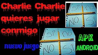 getlinkyoutube.com-Juego android CHARLIE CHARLIE quieres jugar