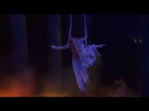 Cirque du Soleil Worlds Away  Aerial Straps HD