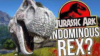 Ark Survival Evolved Gameplay - Meeting The Indominous Rex? T-Rex Hunting