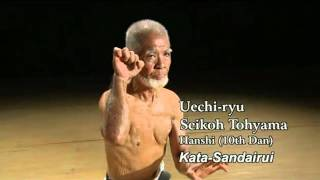 getlinkyoutube.com-Okinawan karate master. Kata.