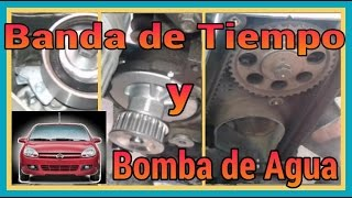 getlinkyoutube.com-BANDA DE TIEMPO Y BOMBA DE AGUA, CHEVY C2, CORSA