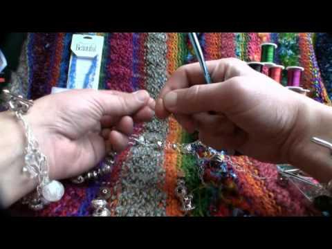 Crochet Jewelry Wire Chunky Bracelet