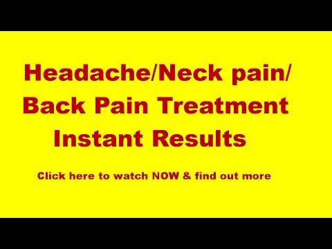 Headache & Neck Pain Treatment: Dr Tan Balance Method Acupuncture instant relief Headache/Neck Pain