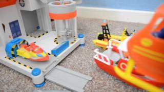 getlinkyoutube.com-Fireman Sam Flys Over Pontypandy's fire station ocean rescue centre Jupiter