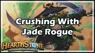getlinkyoutube.com-[Hearthstone] Crushing With Jade Rogue