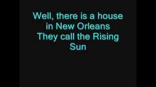 getlinkyoutube.com-The Animals - House Of The Rising Sun (LYRICS)