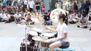 getlinkyoutube.com-20140703 爵士鼓 羅小白 - BarBarBar