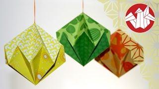 getlinkyoutube.com-Tuto Origami - Diamant de papier [Senbazuru]