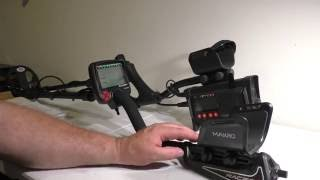 getlinkyoutube.com-Nokta Fors Core vs Makro Racer 2 Metal detectors