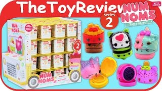 Num Noms Series 2 Blind Bag Mystery Packs 48 Full Case Box Unboxing Toy Review by TheToyReviewer