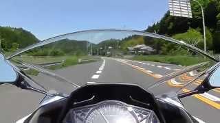 getlinkyoutube.com-ツーリング気分を味わってもらえるか?!その1 Ninja250 HX-A100 車載動画