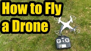 How to fly a Quadcopter / Drone (Basic Tutorial)