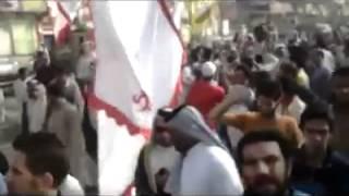 عراضات بني لام في تشييع الشيخ خلف فاخر غضبان اللامي 4