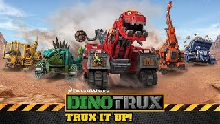 getlinkyoutube.com-Dinotrux: Trux It Up! (by Fox and Sheep GmbH) - iOS / Android - HD Gameplay Trailer