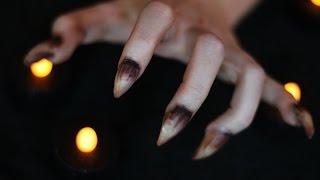 getlinkyoutube.com-Halloween Werewolf/Creature Nails   Special FX Series (CC)
