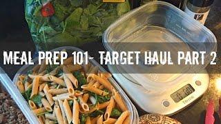 getlinkyoutube.com-Meal Prep 101-Target Haul Part 2 of 2- Gauge Girl Training