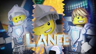 getlinkyoutube.com-Lego NEXO Knights | LANCE | SMILE WHILE YOU FIGHT | 3D Lego