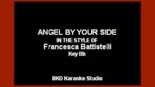 getlinkyoutube.com-Angel By Your Side (In the Style of Francesca Battistelli) (Karaoke with Lyrics)