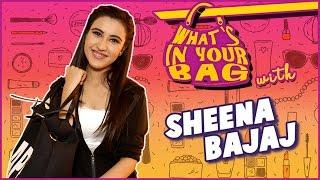 SHEENA BAJAJ's Handbag SECRET REVEALED   What's In Your Bag   TellyMasala