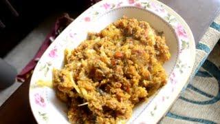 getlinkyoutube.com-Muri Ghonto Recipe - Classic Bengali Dish