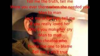 getlinkyoutube.com-Man to Man (Lyrics)