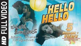 Hello Hello Full Video Song || Bhale Bhale Magadivoi || Nani, Lavanya Tripathi