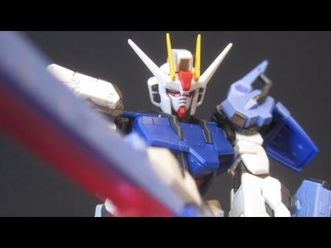 RG Launcher / Sword Strike Gundam (RG Sky Grasper) Gundam Seed Strike addon review
