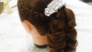 "getlinkyoutube.com-""***Trenza invertida y Trenza de hoja***"""