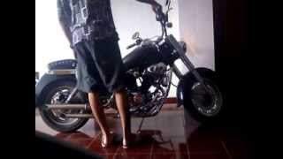 getlinkyoutube.com-Ruby kaisar 250Cc Harley Sound
