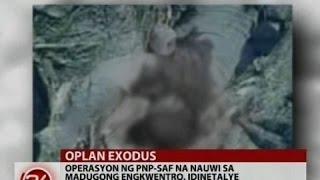getlinkyoutube.com-Marwan, nakatunog daw sa operasyon ng PNP-SAF kaya nagpasabog daw agad sa paligid ng kanyang kubo