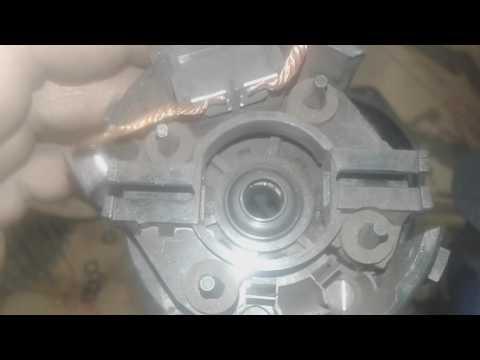 Вентилятор печки Mitsubishi Outlander снятие и ремонт