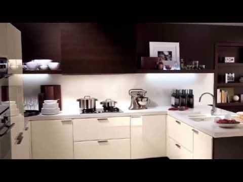 Cocinas integrales modernas, minimalistas y elegantes. Arreglar la cocina.