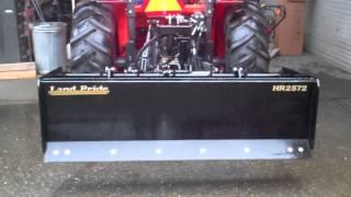 getlinkyoutube.com-Kubota Top-n-Tilt Kit with Land Pride HR2572 Box Scraper