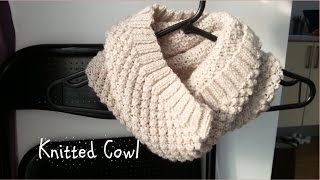 getlinkyoutube.com-Knitted Cowl | Get Ready For Winter | Knitted Collection