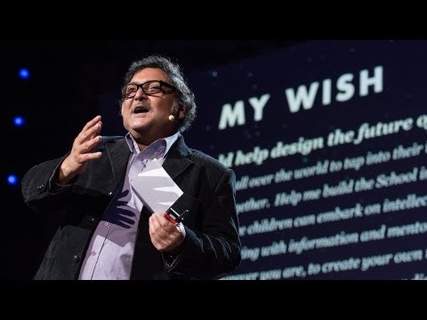 Sugata Mitra: Build a School in the Cloud - YouTube