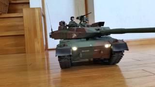 getlinkyoutube.com-陸上自衛隊10式戦車 1/16  TAMIYA フルオペ