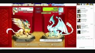getlinkyoutube.com-Dragon city level 20000,9999,999 combat Legendary dragon,Nirobi dragon and Archangel dragon