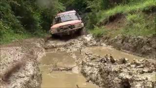 getlinkyoutube.com-EXTREME OFFROAD **LAND ROVER DISCOVERY & JEEP RUBICON JK** 24-05-2016