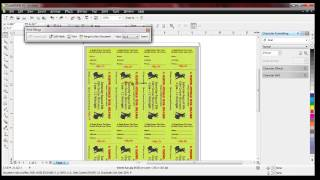 getlinkyoutube.com-Raffle ticket numbering with Number Pro and Corel Draw