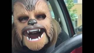 getlinkyoutube.com-LAUGHING CHEWBACCA MASK LADY (FULL VIDEO)