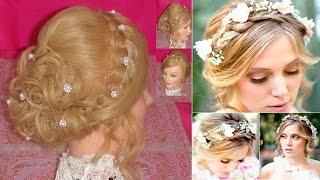 getlinkyoutube.com-Peinado  Facil para cabello corto | Peinados con trenzas | Peinados faciles y bonitos