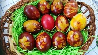 Farbanje jaja na zdrav način