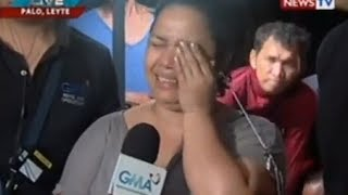 "getlinkyoutube.com-Jiggy Manicad and Love Añover report on Yolanda devastation in Leyte on ""State of the Nation"""