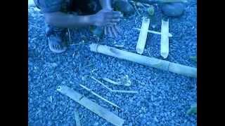 getlinkyoutube.com-Bamboo Fire Saw
